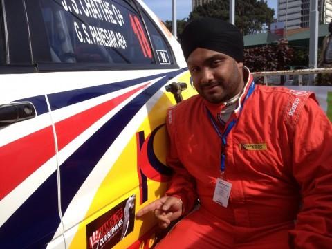 Team Kibos driver Jassi Chatthe