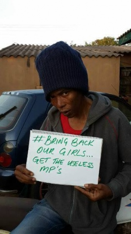 The campaign for the release of the more than 200 girls abducted by Boko Haram in Nigeria keeps spreading.  And Maiko Zulu says......