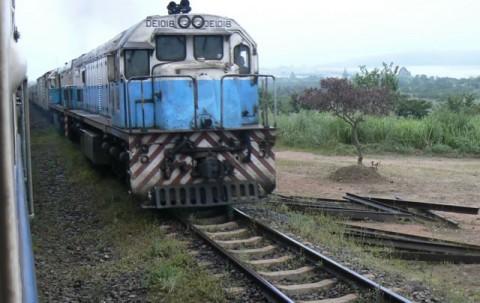 Train from Tanzania to Zambia - TAZARA