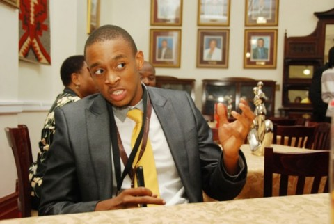 YOUNG TURK. Hlanganani Gumbi, member of the DA, is the youngest member of the KwaZulu-Natal Legislature. Picture: Phumlani Thabethe.