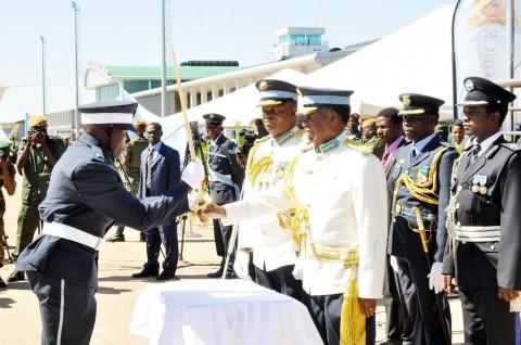 ZAF officer cadets graduation