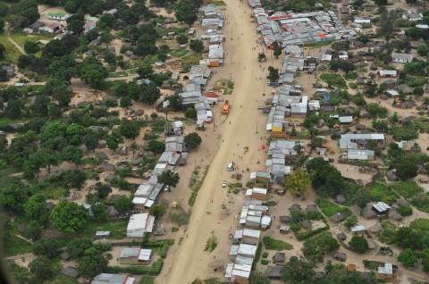 aerial photo of Lukulu