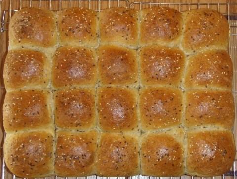 tray of buns