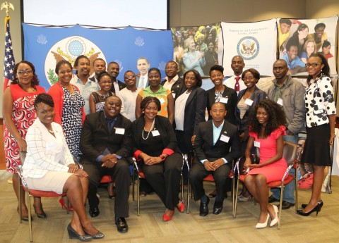 21 young Zambian leaders who will participate in President Obama's Washington Fellowship Program!