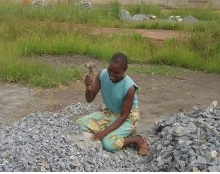 Extreme Poverty Gives Rise to Illegal Stone Crushing in Zambia