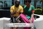 Nkweto Tembwe FAZ - Zambia Vs Japan Pre-game commentry