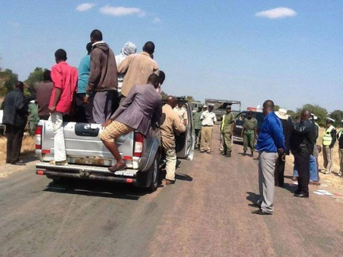 Police tried to block us from proceeding to Limulunga to see our King the Litunga