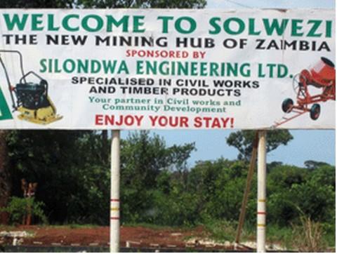 Solwezi District of Zambia