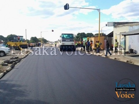 Some of the Mongu roads that are completed so far include, Chiti Mukulu Road, Eugine Nyambe Road, Independence avenue, Tungi and the road to the main bus terminus among others. - Lusakavoice.com