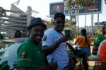 Zambia Vs Japan – Chipolopolo FANS outside stadium Party in Pictures-17
