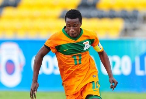 Zambian midfielder Lubambo Musonda