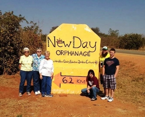 First Baptist Church of Cleveland members traveled off the beaten path during a recent mission trip to an orphanage in Zambia.