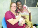 Julie Argent (founder of Zoe's Hope in Zambia), is coming to Parkes to personally thank locals who raised more than $6,000 for Zoe's Hope at a dinner:auction last February.