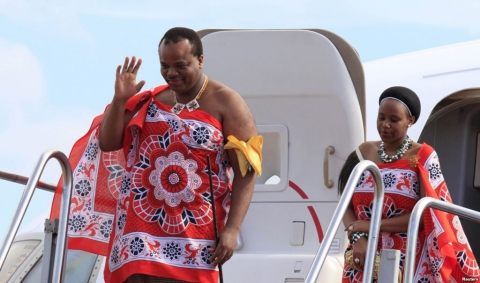 King Mswati III, Swaziland
