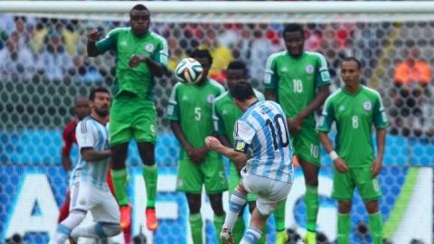 Lionel Messi scores twice as Argentina beats Nigeria 3-2