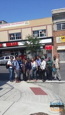 Washington Fellowship, Week 2 update -Team visit to Port Richmond - Lusakavoice.com