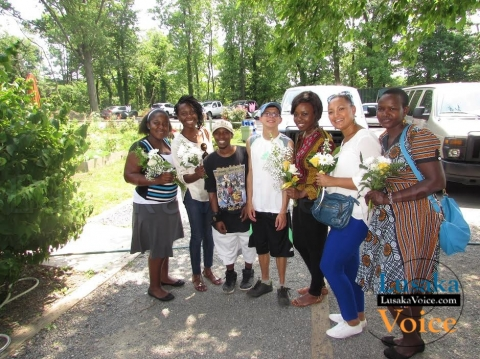 ZILA MILUPI - Visiting the greenhouse at Lifestyles for the Disabled