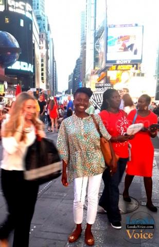 Zila Milupi - In Times Square