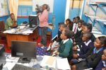 Dr Kaseba  during the Teachers:Community Leaders:Pupils Mentorship Training Camp at Chinsali Girls Secondary School.