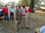 Dr Nevers Mumba introducing MMD candidate Charles Mwenzala. Mangango