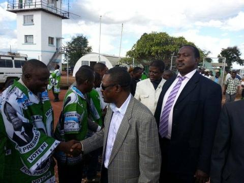 Kabimba busy day of campaigning in Zambezi