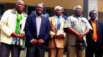 Mr Kabimba With Chief Chipalo (centre) in Luwingu