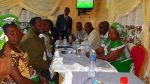 Mr Kabimba with party members in Kasama