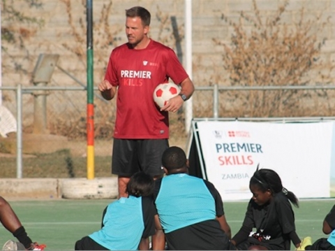 Sunderland AFC's head of international football development, Graham Robinson, has travelled to the nation of Zambia this week as club continues to strengthen its links with Africa and the Premier Skills initiative