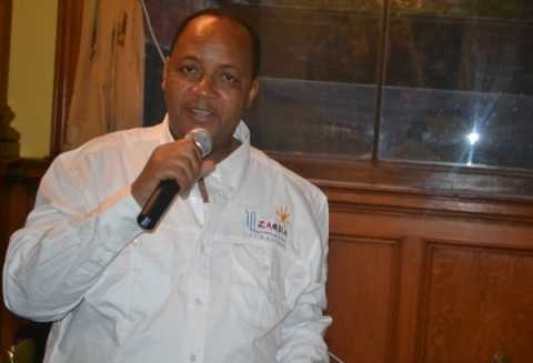 Zambia Tourism Board (ZTB) Managing Director Mr. Felix Chaila