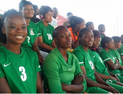 Zambia women football team - shipolopolo