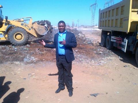 Aspiring Kabwata Member of Parliament Clement Tembo