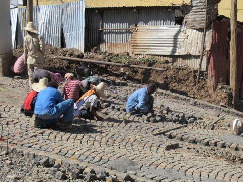 Ethiopia: the cobblestone