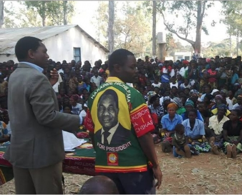 Hichilema , HH in Vubwi