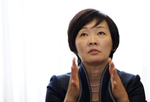 Japanese Prime Minister Shinzo Abe's wife Akie Abe