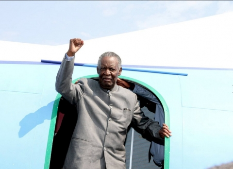 Sata Arrival in SOlwezi