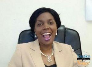 The Zambia National Women Lobby (ZNWL) Chairperson Beauty Katebe