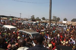 This is HH going through Solwezi Town