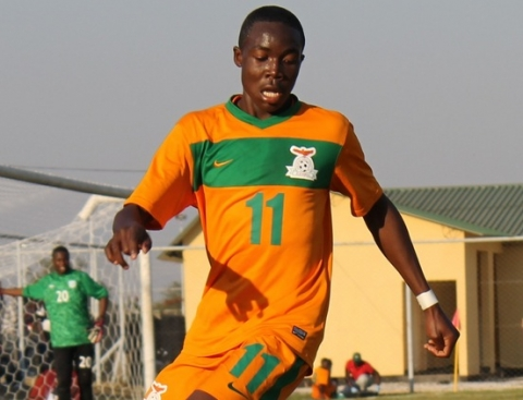 What Ennock Mwepu misses on speed is compensated by his great first touch on the ball, ball dribbling and distribution.