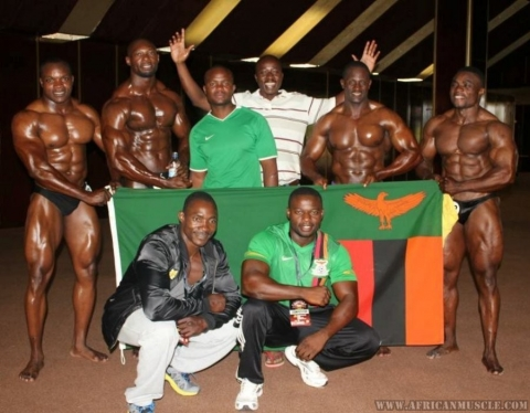 Zambia bodybuilders