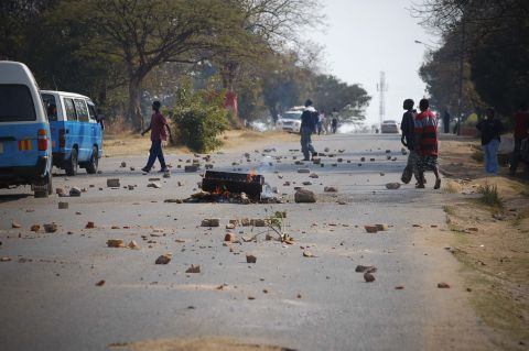 CBU students hit the streets with riots and demonstrations