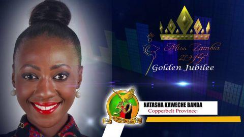 Miss Zambia MEET CONTESTANT #10 NATASHA KAWECHE BANDA > COPPERBELT PROVINCE