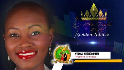 Miss Zambia MEET CONTESTANT #7 NYANGU MTONGO PHIRI > WESTERN PROVINCE