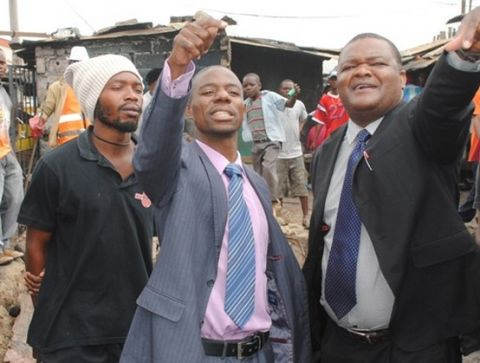 Mufumbwe Member of Parliament Stephen Masumba