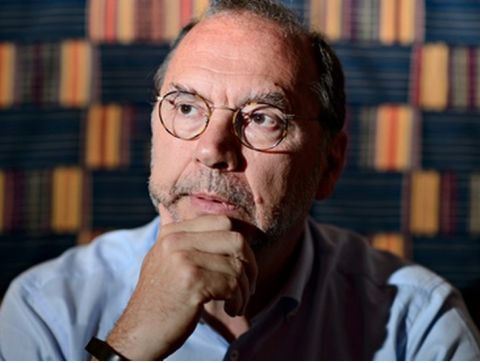 Professor Peter Piot, the Director of the London School of Hygiene and Tropical Medicine: 'Around June it became clear to me there was something different about this outbreak. I began to get really worried' Photograph: Leon Neal/AFP
