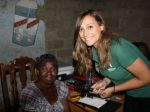 students Holly Higgins, Gemma Gould and Muhammad Vali spent two weeks in Lusaka, Zambia, to provide refraction and dispensing services through an outreach clinic.