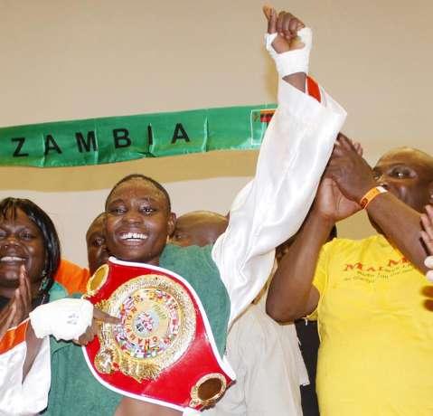CATHERINE Phiri retains her title