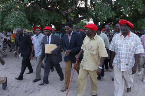 HH - UPND Campaign in Western Province 29th Nov. 2014