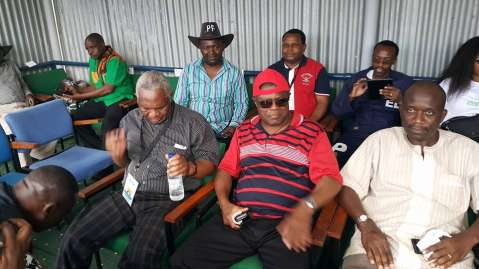 Ministers, MCCS and other dignitaries waiting and watching proceedings
