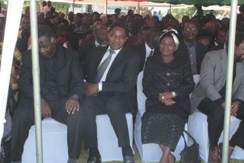 Mr and Mrs Hichilema