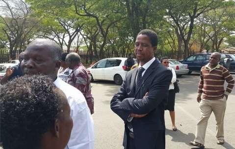 PF CENTRAL COMMITTEE Edgar Lungu 2014-11-23